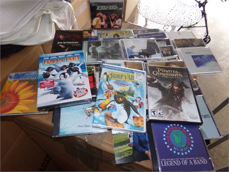 Cd's and movies