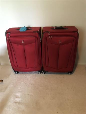 Two Large Travel Pro Pieces of Luggage