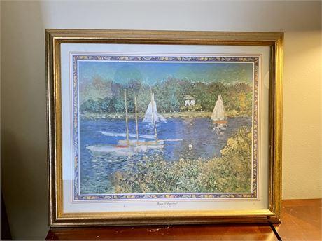 Framed Sailing Prints