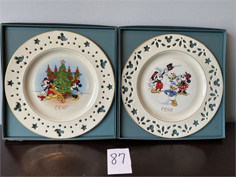 Ivory Fine China Disney Collectible Plates by Lenox