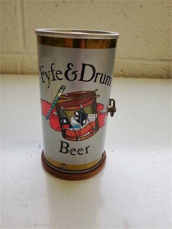 Vintage Fyfe & Drum Beer Can Music Box