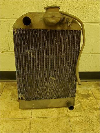 Antique Brass Radiator