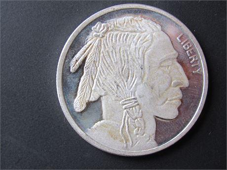 Indian Head 1 OZ 999 Silver Buffalo Coin