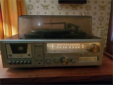 Gran Prix Stereo System 8 Track Cassette Phono + Stereo