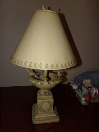 Birdbath lamp