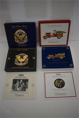 White House Historical Assoc Christmas Ornaments 2016/2017