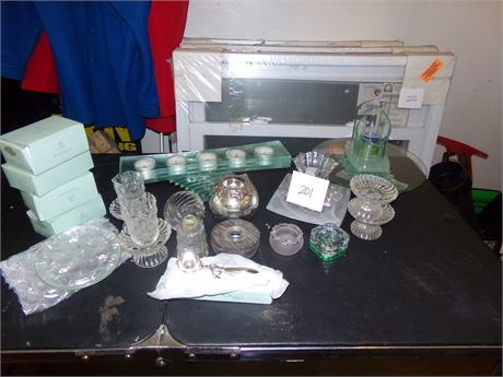 Large Lot of Candles and Holders- A Lot of them are Partylite