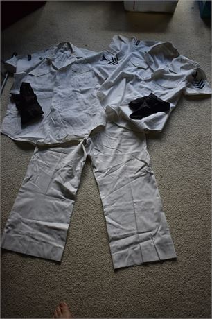 US Navy Security Uniform-1 pants/2 shirts (DICKIES NOT INCLUDED)