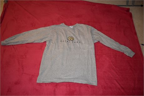 Notre Dame-Size Large shirt