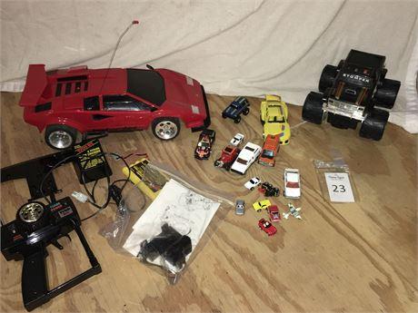 Toy Lamborginni RC Car, Stomper 4x4 Desperado Puller and More