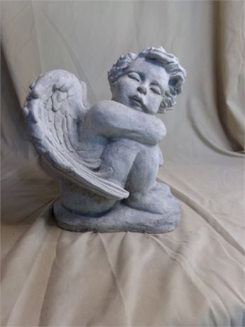 Concrete Angel- Stamped