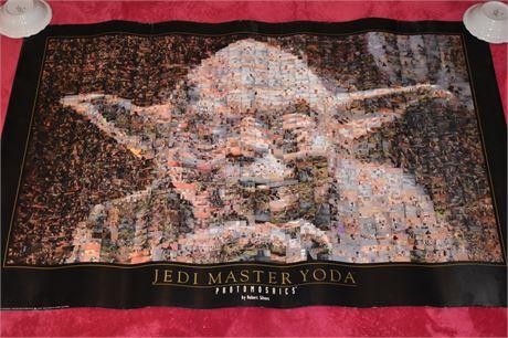 STAR WARS Photomosaics Jedi Master Yoda poster-Episodes 4-6 thumbnails