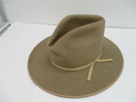 Premium Miller's Harness Co NY Beaver Rancher Cowboy Hat 7
