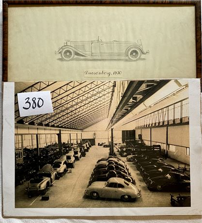 Original Signed & Framed Pencil Drawing & Photo Print