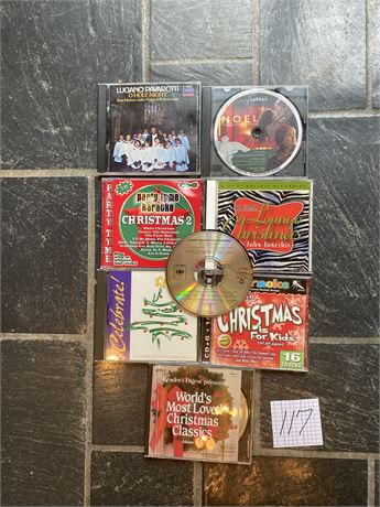 Christmas CDs Lot