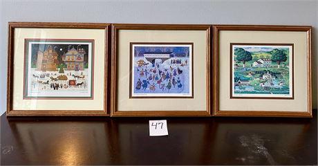 Charles Wysocki Framed Prints - Lot #1