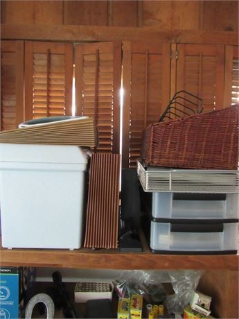 Office Supplies/Storage Lot