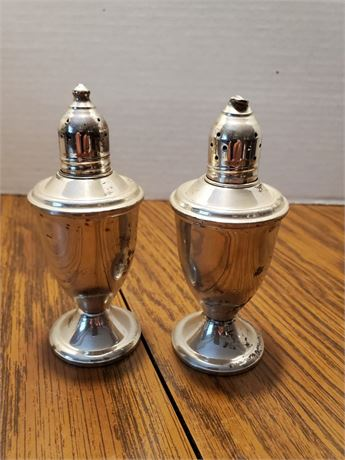 Sterling Silver Salt & Pepper