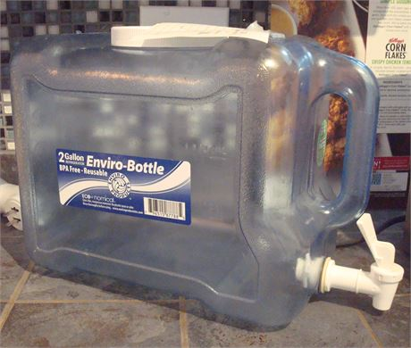 Refillable Water Container for Fridge 2 Gallon
