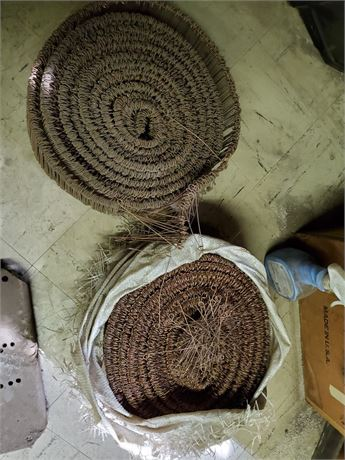 2 Large Rolls Copper Clad Whirly Ties