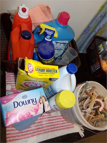 Laundry Soap, Fabric Softener and More