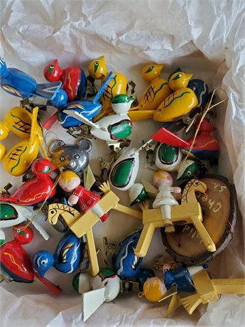 Vintage Mini Christmas Ornaments