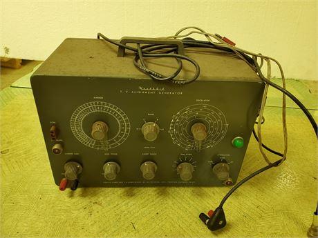 Heathkit T.V. Alignment Generator TS-4A