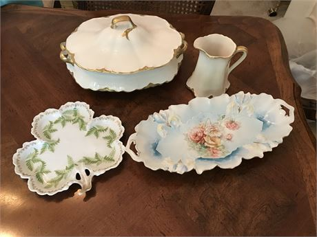 Fine Porcelain Lot including RS Prussia and Knowles Taylor
