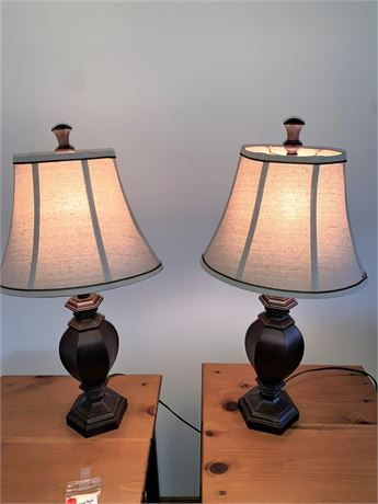 Pair Matching Table Lamps