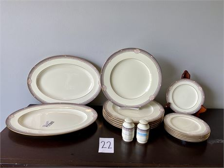 """Noritake """"Stanford Court"""" Fine Bone China from Japan - Discontinued Pattern"""