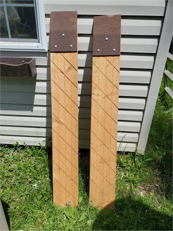 Wood Tailgate Ramps