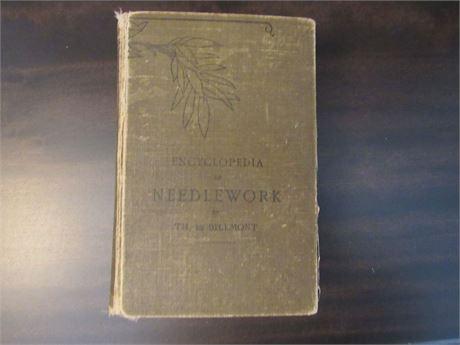 Old Encyclopedia of Needlework Book Hardback