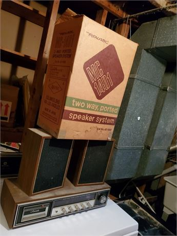 Vintage Aircastle / Realistic Stereo Setup
