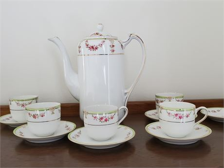 Antique Nippon Coffee Set