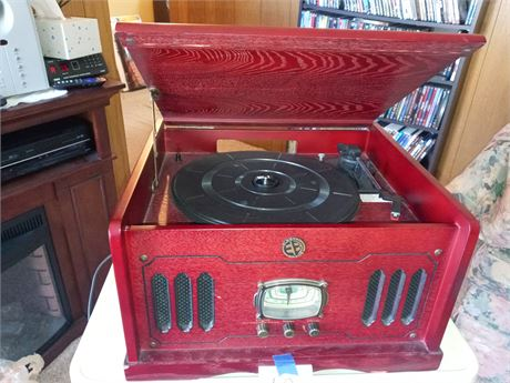 Stereo CD player record player