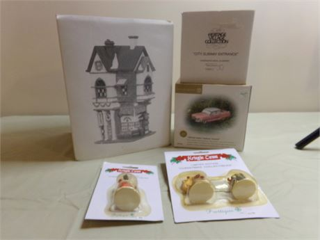 Dept. 56 The Heritage Village Collection- Christmas in the City, Pink Cadillac