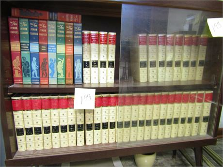 The New Junior Classics Collection and Funk & Wagnalls Encyclopedias