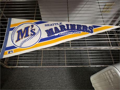 Seattle Mariners Team Pennant