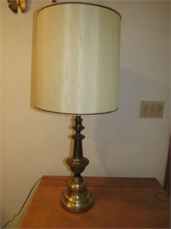 Brass Table Lamp, Vintage