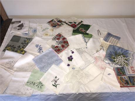 Vintage Handkerchief Lot 3