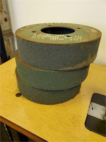 3 Carborundum Sanding Drums NEW