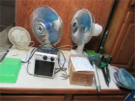 Fans & Small Space Heater