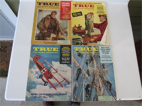 1950s True Magazine Lot