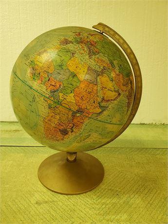Vintage Replogle World Globe