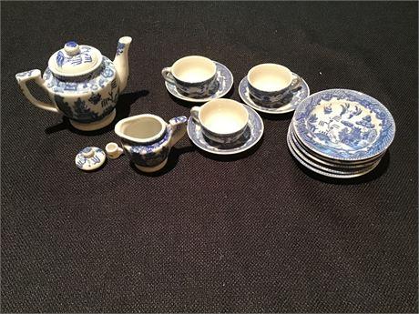 Vintage Child's China Tea Set