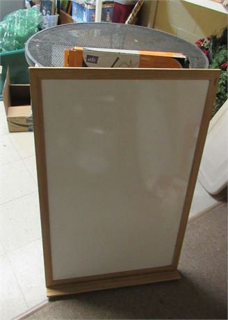 White Board & Display Easel