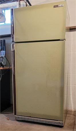Philco Avocado Green Refrigerator