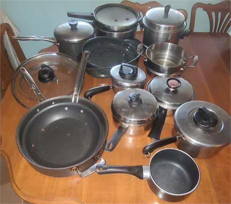 Various Pots & Pans