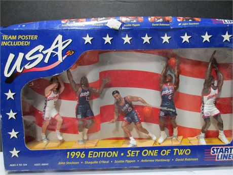 Vintage 1996 Team USA Starting Line New Set 1 of 2