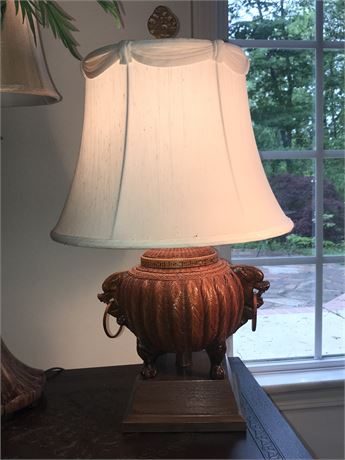 Oriental Basket Lamp